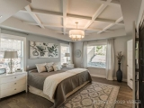 MLS # 457072: Impressive Coffered Ceiling In Master Bedroom