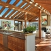 Laminated Wood Beams, Fireplace, Dining And Kitchen